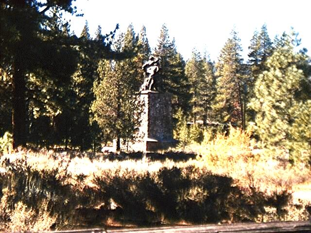 Photograph of Donner Monument