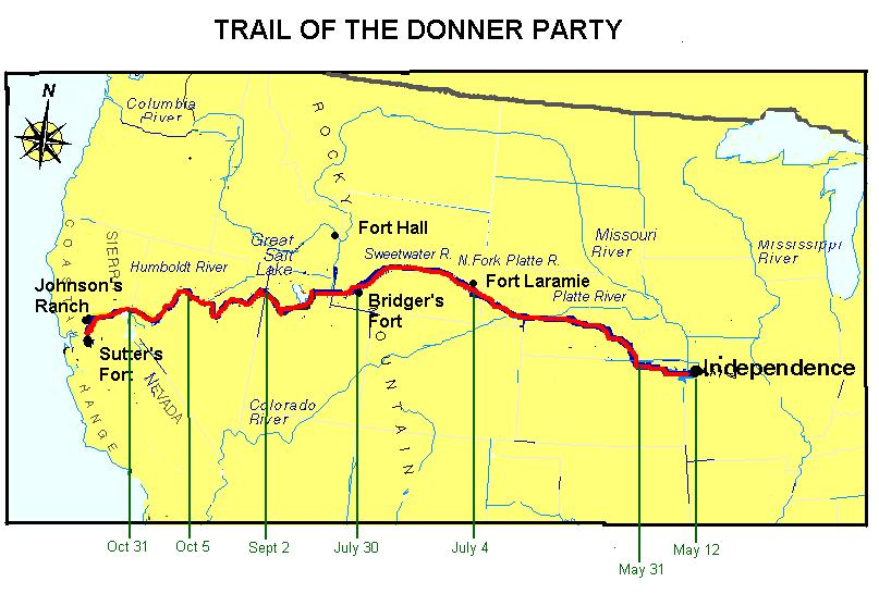 Trail of the Donner Party